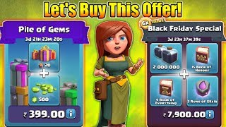 "Let's Buy This ""Black Friday Offer"" In Clash Of Clans! 