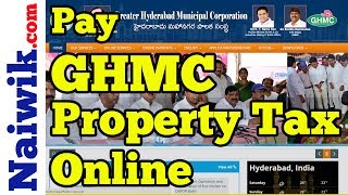 How to Pay GHMC property tax online | Greater Hyderabad Municipal Corporation