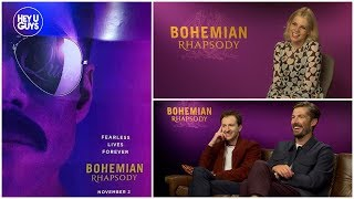 Bohemian Rhapsody cast on Rami Malek's transformation into Freddie Mercury