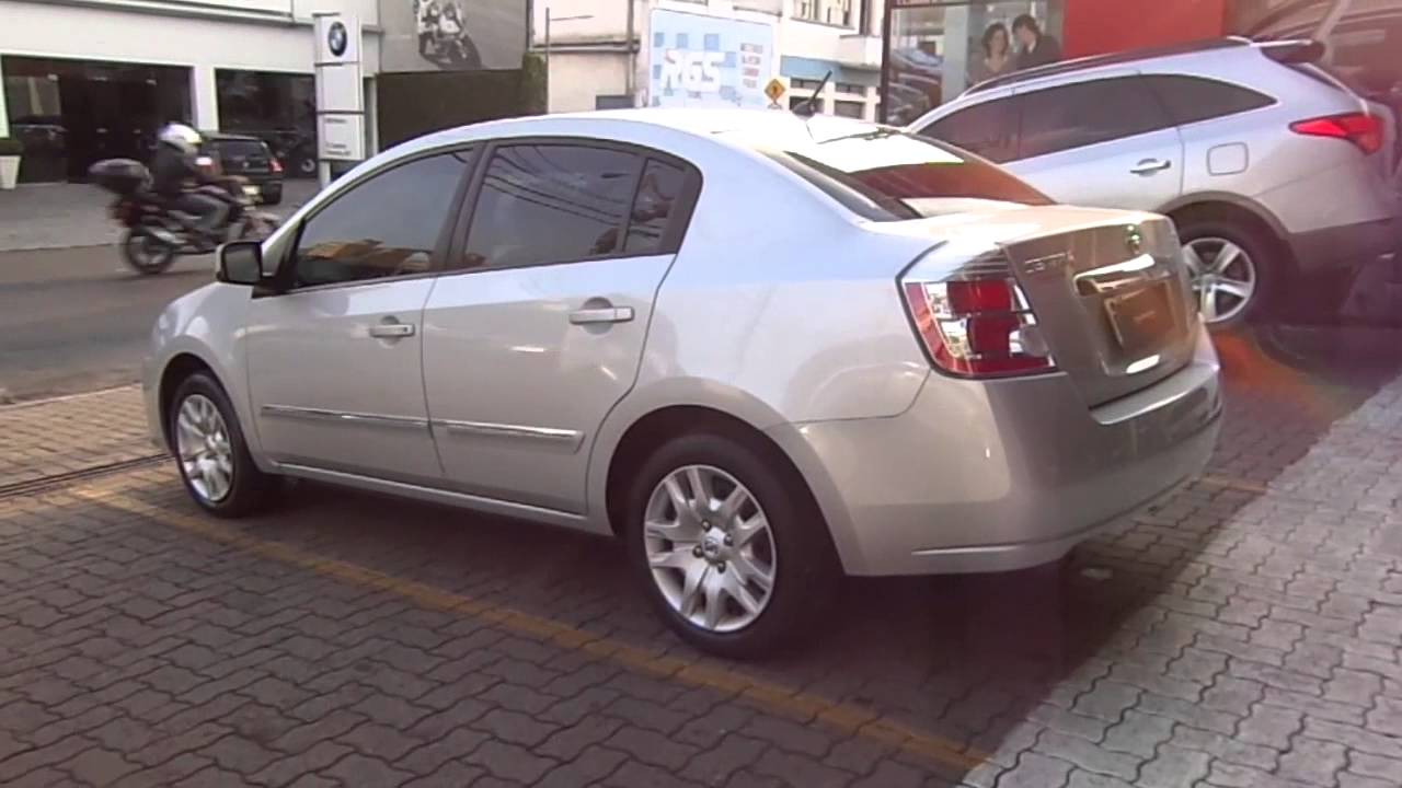 Nissan sentra 20 16v flex 2010 youtube vanachro Image collections