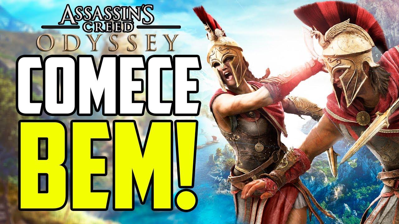 10 DICAS PRA COMEÇAR BEM EM ASSASSIN'S CREED ODYSSEY - ft. @Sidão do Game - Dicas Assassin'