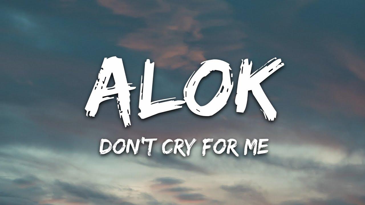 Alok, Martin Jensen, Jason Derulo - Don't Cry For Me (Lyrics)