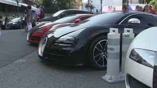 INSANE Bugatti Veyron combo (4X!!) at Hotel de Paris in Monaco