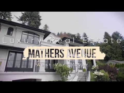 Mathers Avenue West Vancouver Luxury Real Estate