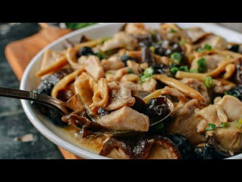 resep-masak-ayam-ala-hongkong---jamur-kuping+-ayam---menu-makan-majikan