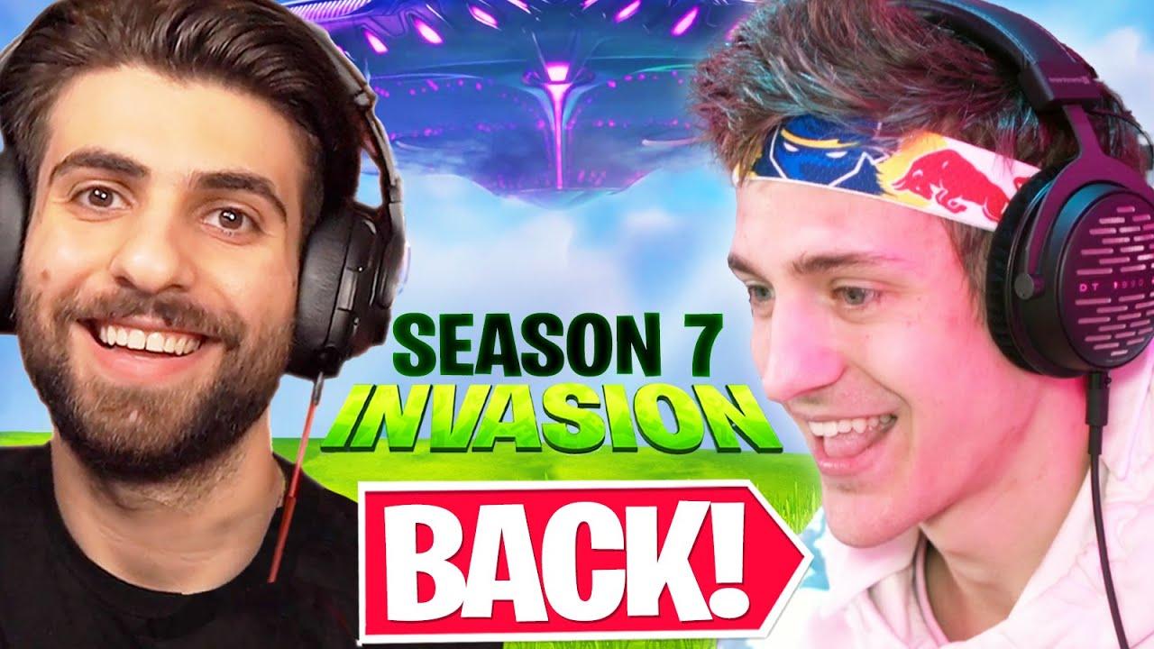 Ninja is BACK in Fortnite Season 7!