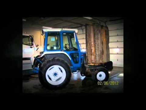 """Municibid.com - 88 Ford 6610 Tractor Mower w/1998 Alamo 60"""""""