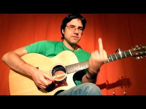 """Как играть на гитаре """"Семидесятые, на выход!"""" The Dartz"""