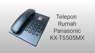 Telepon Rumah Panasonic ini yg biasa digunakan kantor - kantor, dan mungkin bisa disebut jga telepon standar yg lumrah di masyarakat.