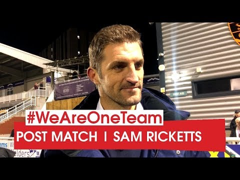 WATCH | Sam Ricketts after Maidstone United