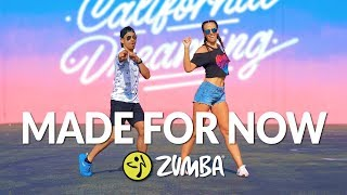 """MADE FOR NOW"" - Janet Jackson, Daddy Yankee / Zumba® choreo by Alix & Jhon Gonzalez"