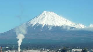 2017年11月24日 名古屋行き新幹線の車窓