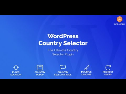 WordPress Country Selector Plugin