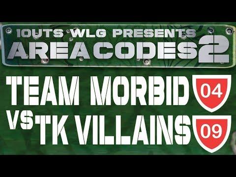 1OUTS WLG - AREA CODES 2 - TEAM MORBID VS TK VILLAINS