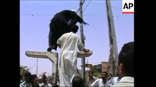 People protest in Basra against British governor
