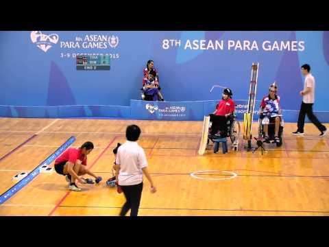 Boccia Individual BC3 Semi Final | 8th ASEAN Para Games  2015