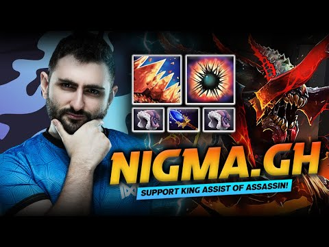 Dota 2 Nyx Assassin Support Gameplay Patch 7.29D by Nigma.GH - King of Assist!