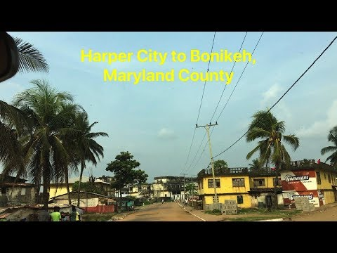 Harper City to Bonikeh, Maryland County, Liberia | SheaMoringaTV