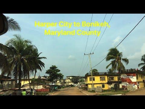 Harper City To Bonikeh, Maryland County, Liberia | SheaMoringaTV