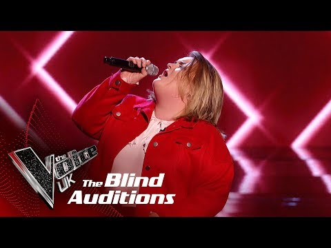 Lauren Hope's 'Addicted To Love' | Blind Auditions | The Voice UK 2019
