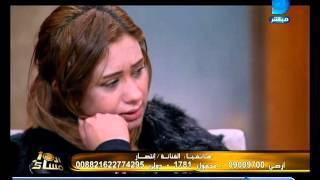 بالفيديو.. أرملة سعيد طرابيك تنهار على الهواء بسبب انتصار