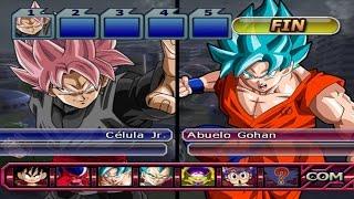 Dragon ball z budokai tenkaichi 3 - black goku ssj rose vs vegeta ssgss & goku ssgss rp (1080p)