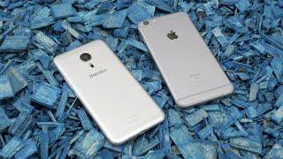 Meizu Pro 5 vs iPhone 6S Plus - великое сравнение!(Сравнение двух тяжеловесов осени: iPhone 6S Plus и Meizu Pro 5. Дизайн, процессор, камеры... ааа!11 Настоящие, вкусные,..., 2015-10-14T20:32:31.000Z)