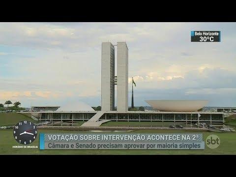 Combate à criminalidade entra na pauta das discussões em Brasília | SBT Brasil (17/02/18)