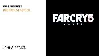 Far Cry 5 - Wespennest Prepper Versteck Fundort - Johns Region