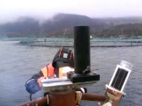 Welding of sockets for Marking lights to Bremnes Seashore As