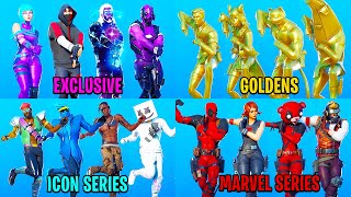 Best Fortnite Dances & Emotes With Similar Skins