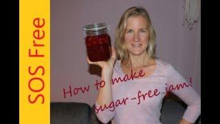 How To Make Jam Without Added Sugar, Pectin Or Gelatine | WFPB SOS-Free | Vegan