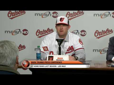Mark Trumbo talks about signing three-year deal with the Orioles