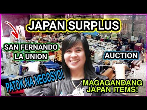 JAPAN SURPLUS PHILIPPINES 🇯🇵 SAN FERNANDO LA UNION AUCTION | NEGOSYO NA AFFORDABLE BUDGET