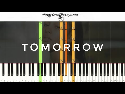 Jorja Smith - Tomorrow [Piano Tutorial]