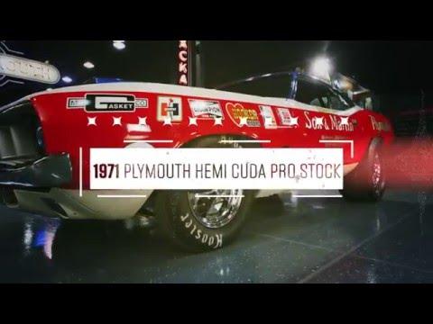 Lot F212 // 1971 Plymouth Hemi Cuda Pro Stock // Mecum Indy 2016