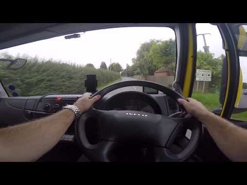 Hairy Trucker driving POV camera angle test