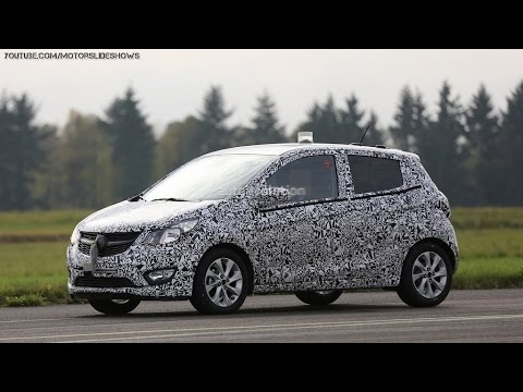 2015 Opel Karl / Vauxhall Viva Shows New Details - Spyshots
