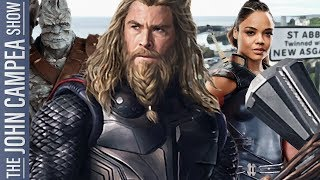 Marvel Officially Making Thor 4: Good Or Bad Idea - The John Campea Show