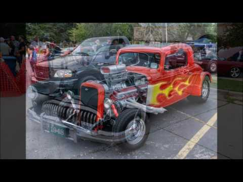 July 21 2016 Palos Heights Classic Car Show Youtube