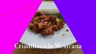 Como hacer Criadillas a la Mexicana-Criadillas de Toro