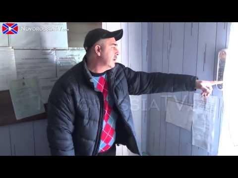 Артиллерия ВСУ разгромила кладбище 06 12 2014 АТО Донбасс Донецк Луганск