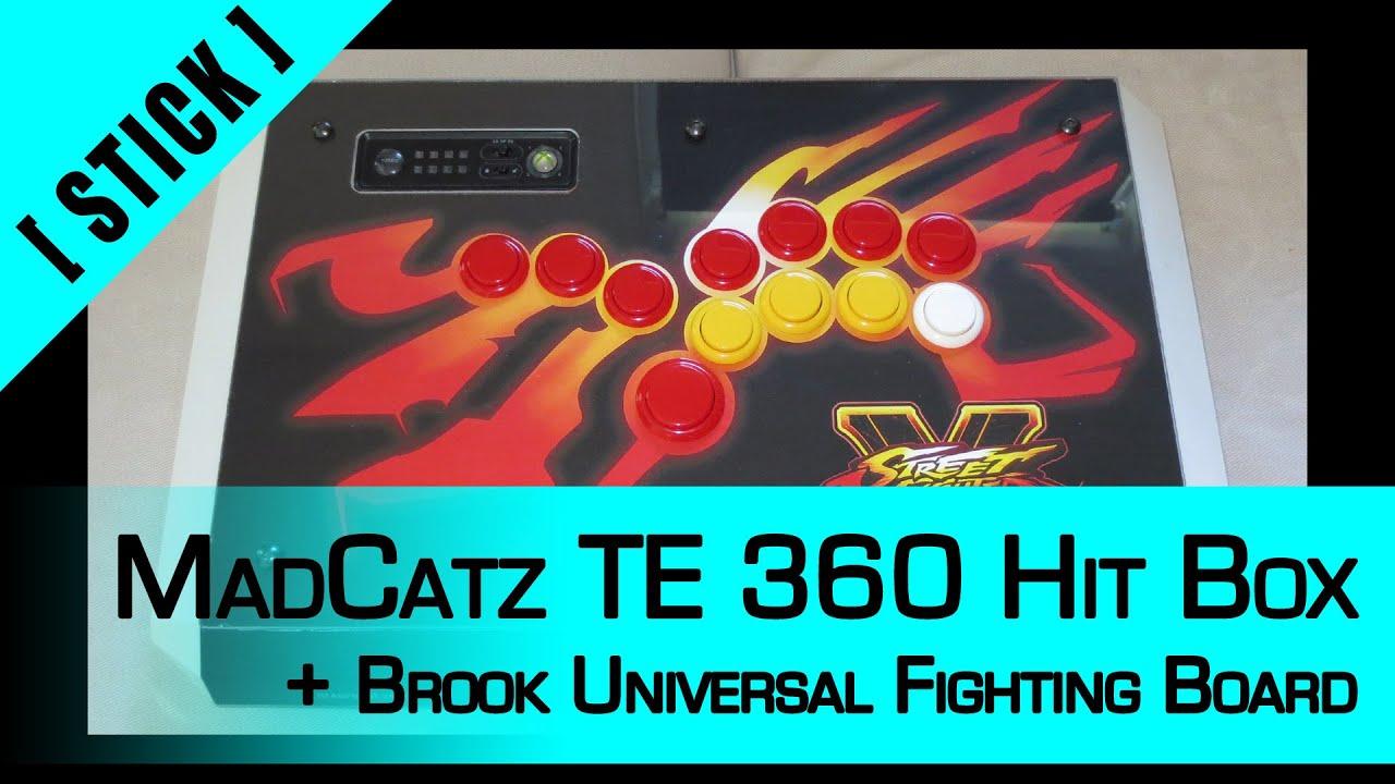 Arcade Stick Mod] Part 6: Hit Box - MadCatz TE X360 + Brook ...
