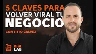 5 claves para volver tu negocio viral Tito Gálvez