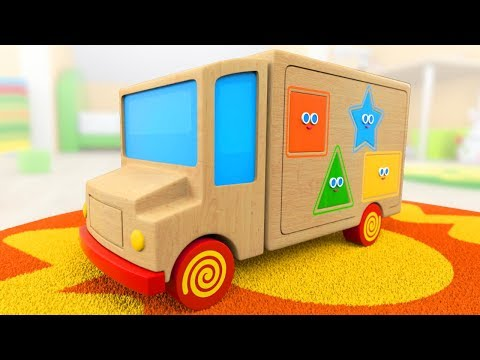Learn Shapes | Cartoon for toddlers with Tino