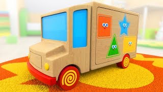 Download Learn Shapes | Cartoon for toddlers with Tino