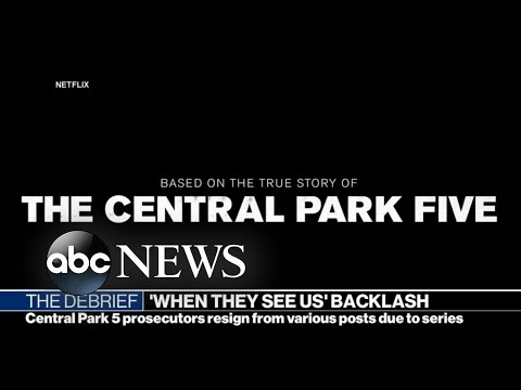 'Central Park 5' prosecutors resign from various posts due to series