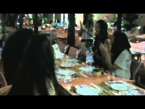 Chorouk Chelouati Miss Arab fête son anniversaire avec ses Fans à Marrakech (Par2)