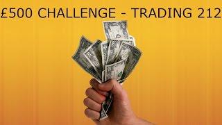 £500 CHALLENGE - TRADING 212 #1