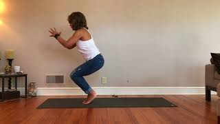 Hip Strength Standing without hands
